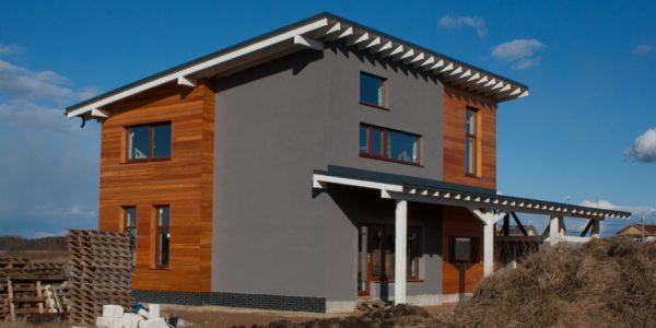 современный скандинавский дом - проектное бюро А.Никитина