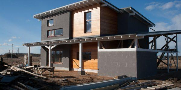 строительство - скандинавский дом