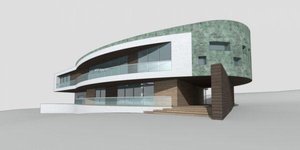 нестандартные проекты домов - форт