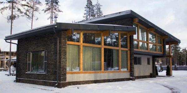 скандинавский дом - проект архитектурного бюро А.Никитина