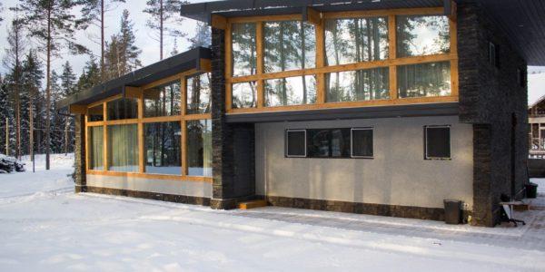 дом в скандинавском стиле - проект архитектурного бюро А.Никитина