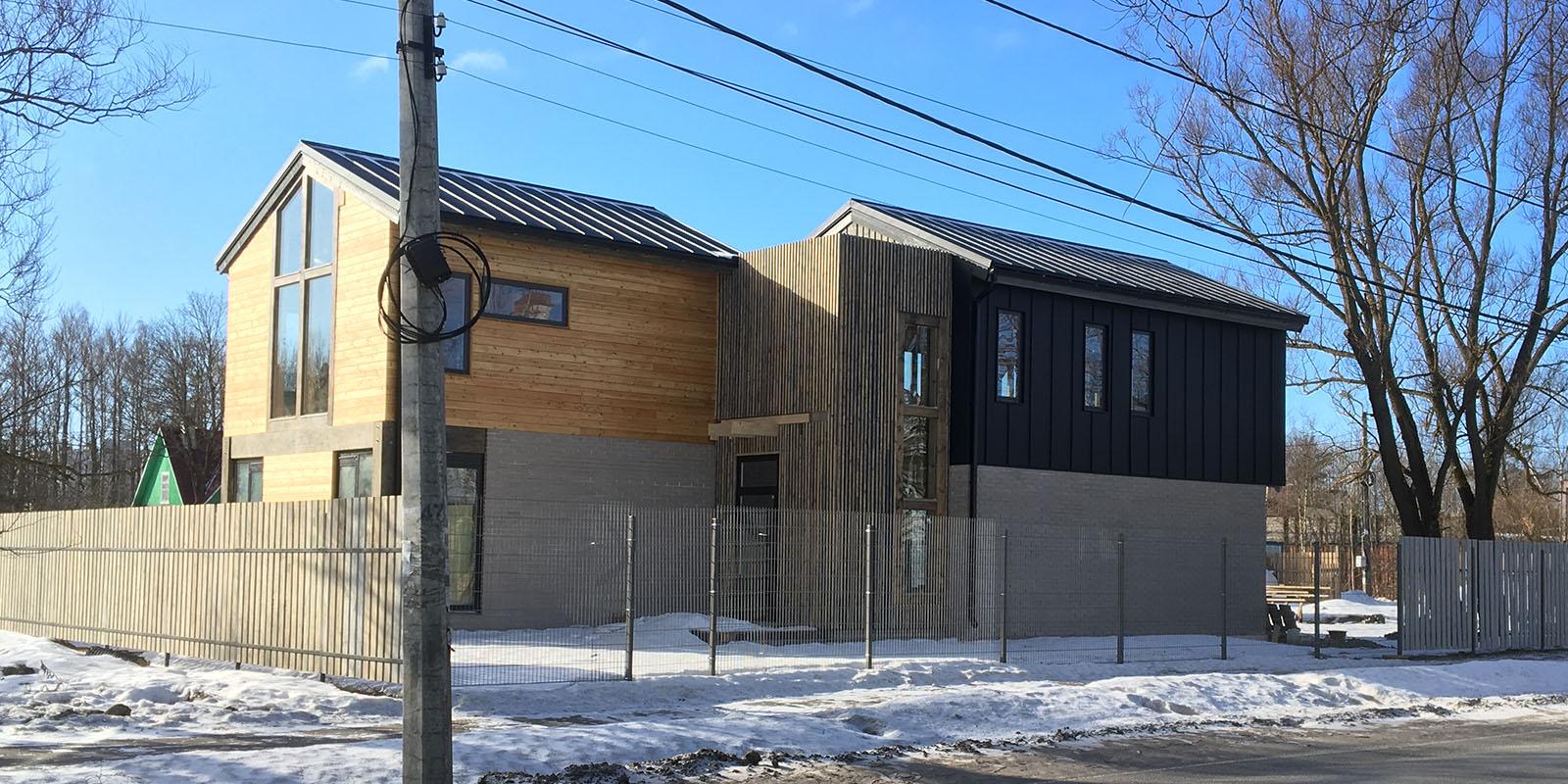 барн стильный дом