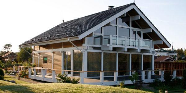 дом в стиле фахверк в Сосново