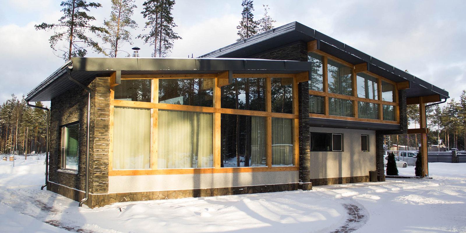 дом в скандинавском стиле от архитектурного бюро А.Никитина