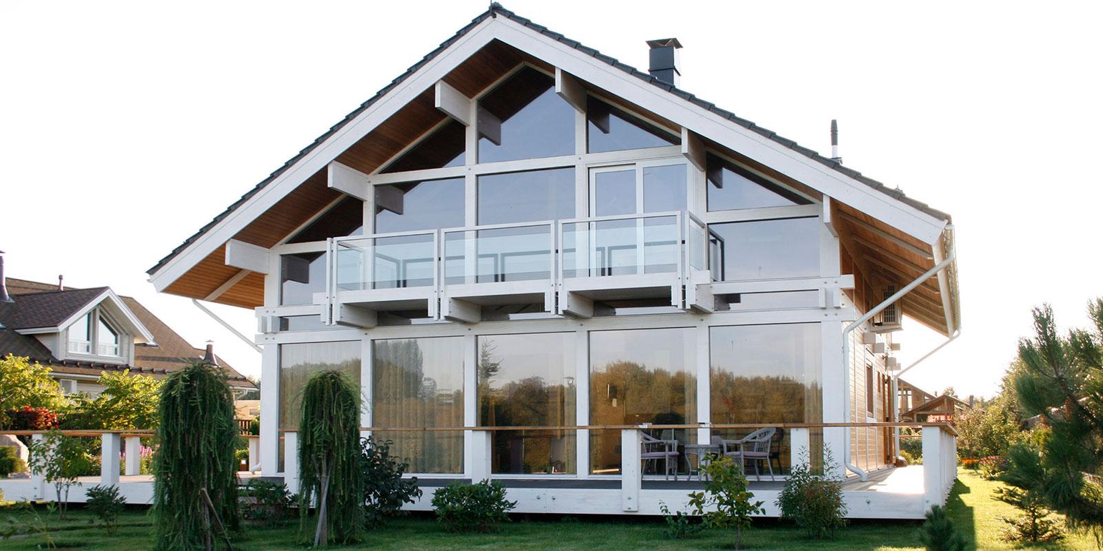 Дом в стиле фахверк, проектирование фахверк и фахверковых домов