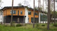 современный дом в Белоострове