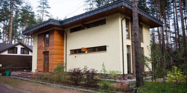 Современный дом в стиле Райт