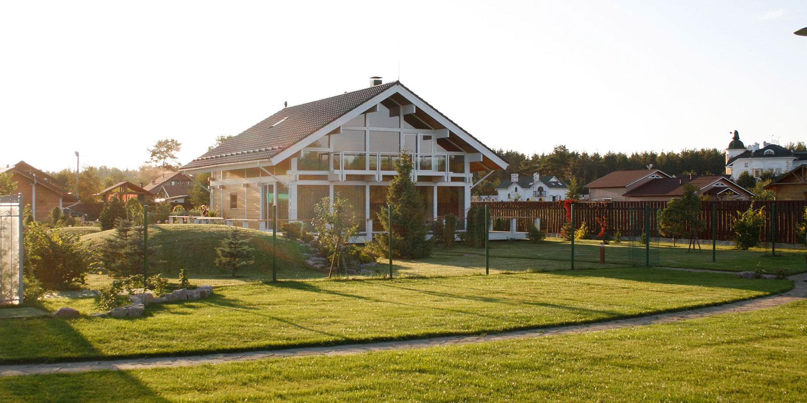 проектирование и строительство- фахверк в Сосново