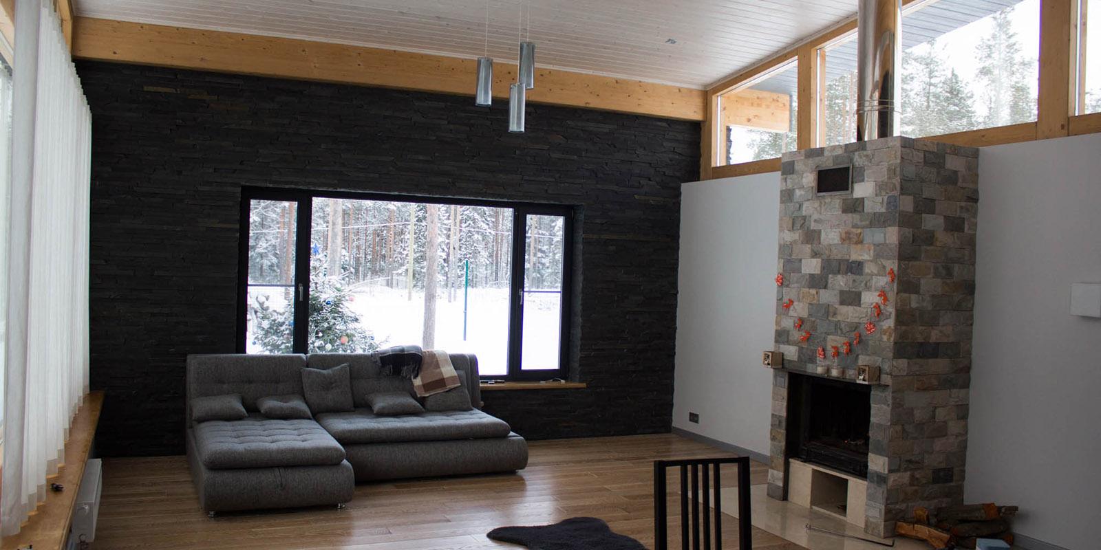_дом в скандинавском стиле_