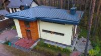 кирпичный дом в современном стиле