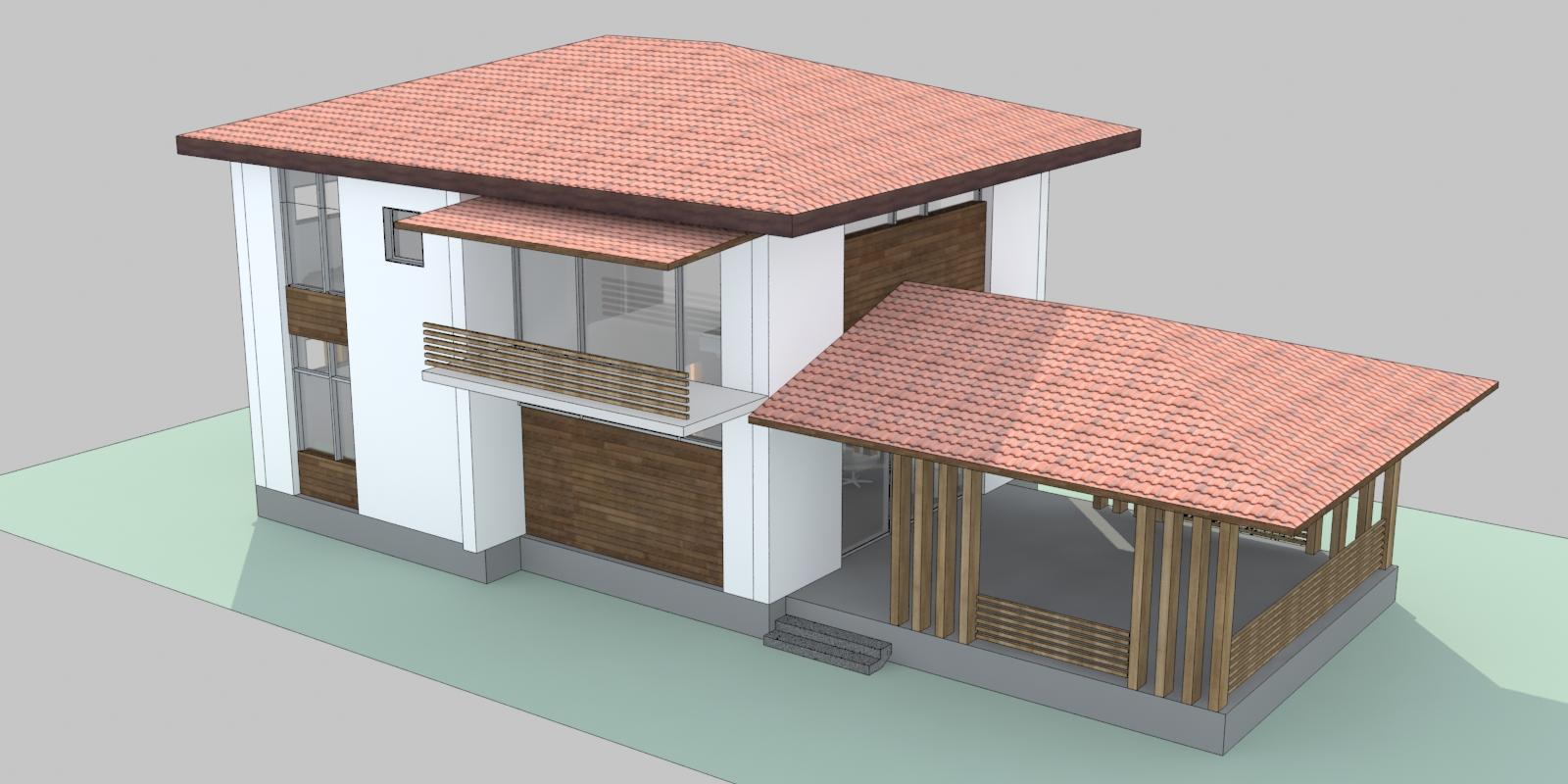 индивидуальный проект дома в тамани