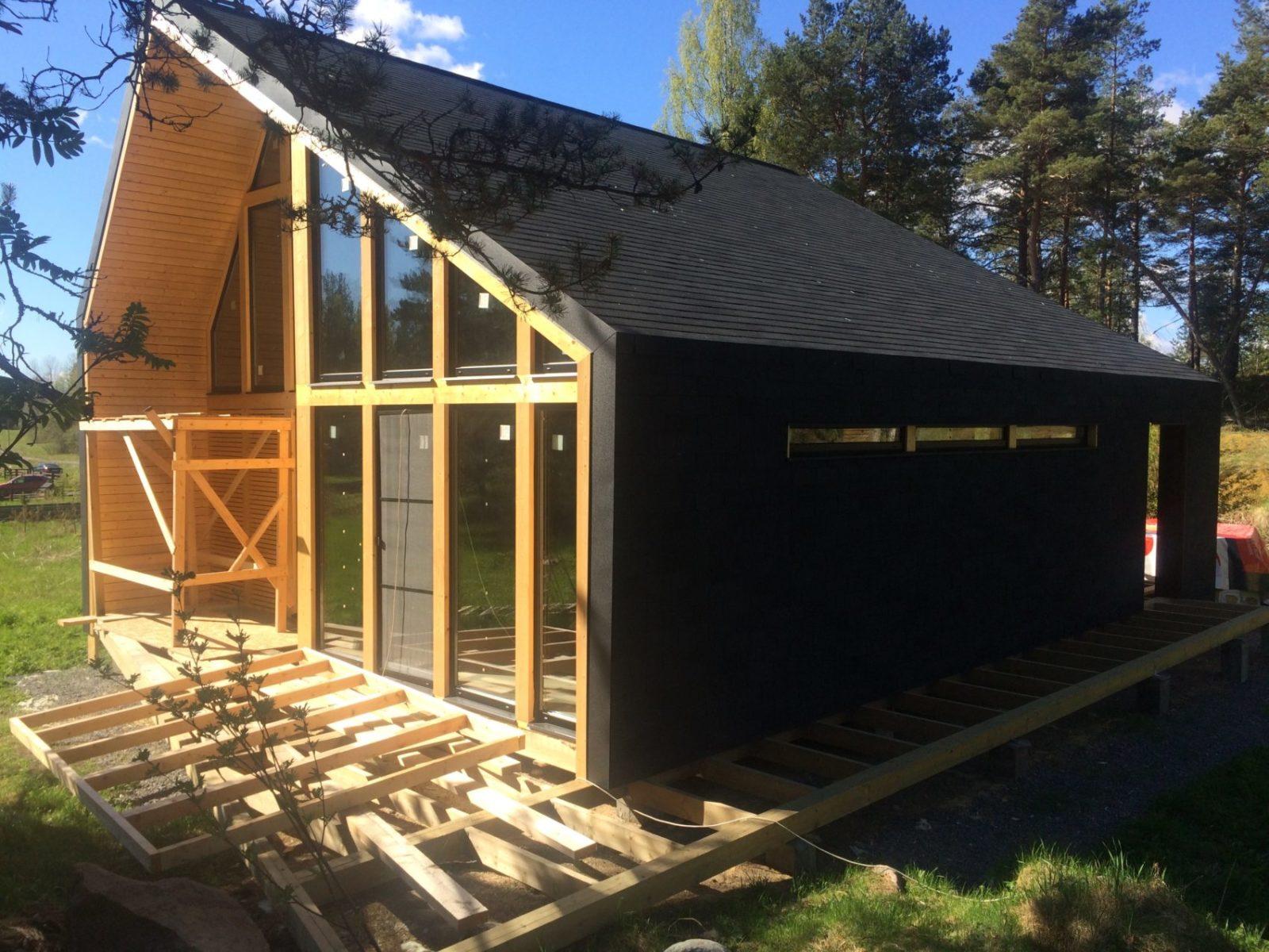Проект и Строительство дома в Карелии