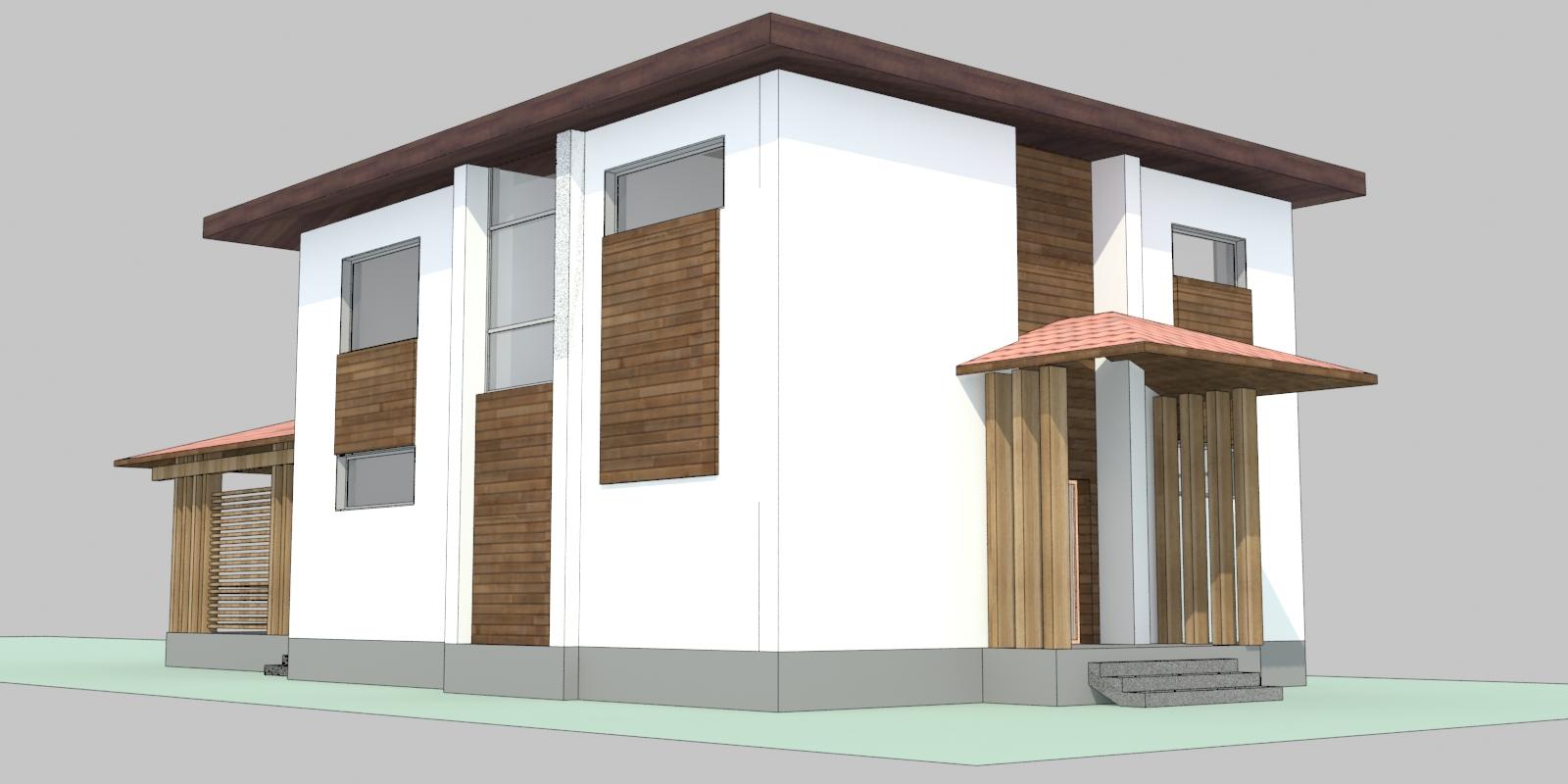 проект дома тамань-3