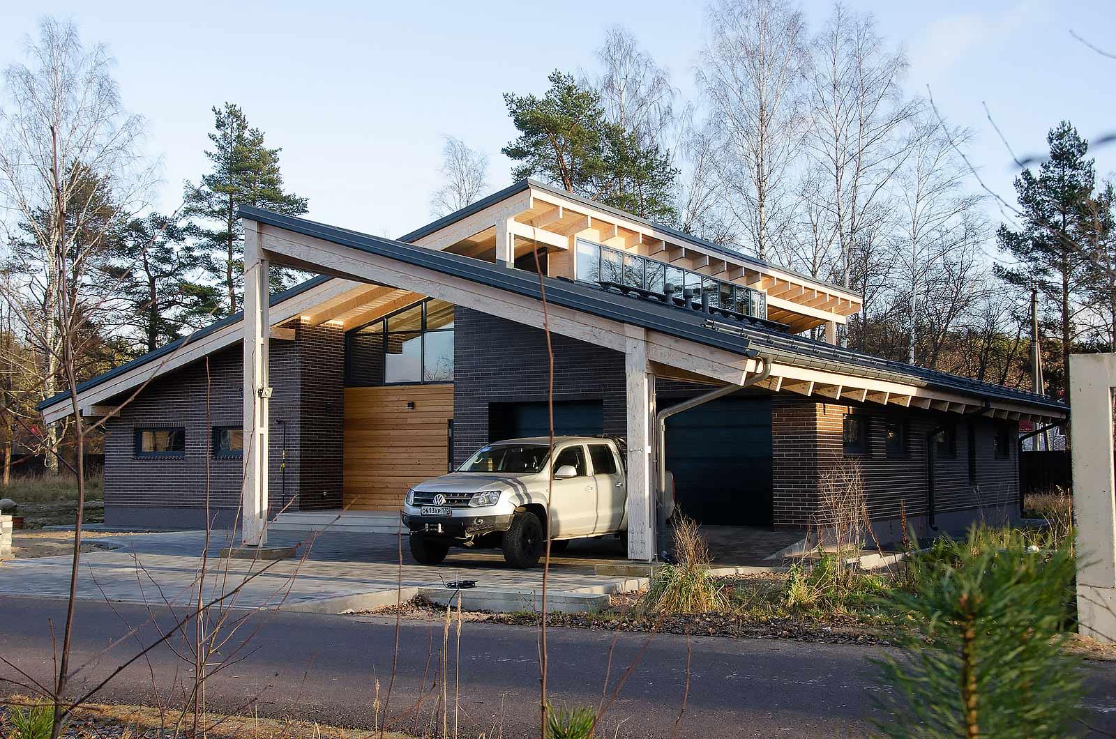 """Проектирование одноэтажного дома """"Самолет"""""""