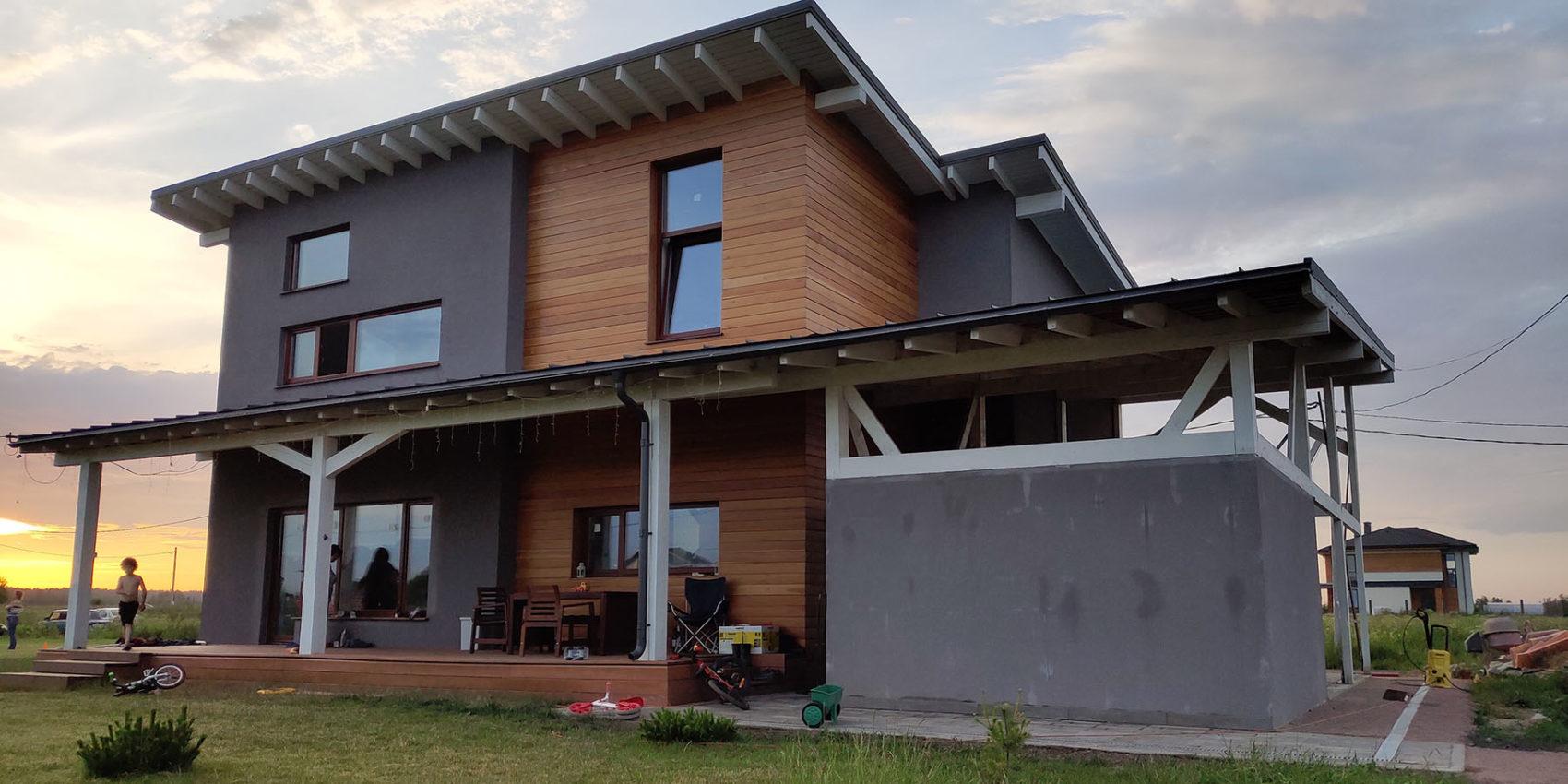 Проектирование европейского дома