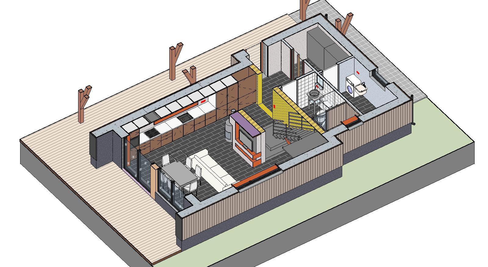 Проектирование технологичного дома на УШП