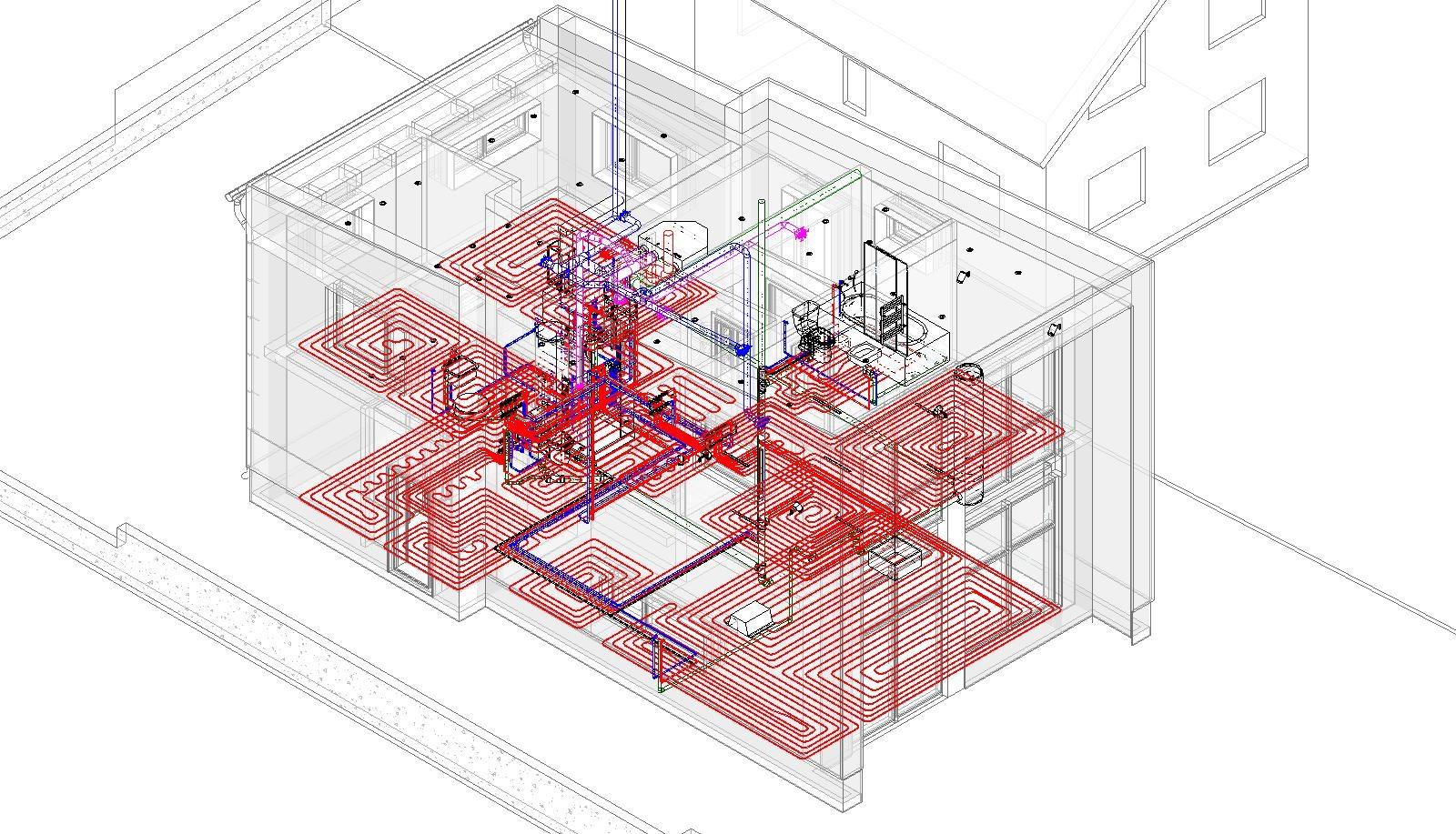 Инженерные сети и интерьеры в лофте
